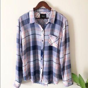 NWT Rails Plaid Shirt